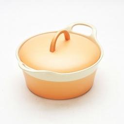 фото Жаровня Mayer&Boch глиняная. Цвет: оранжевый