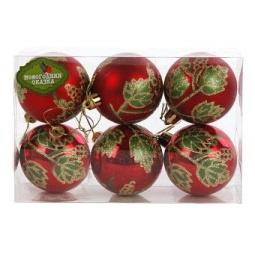 фото Набор новогодних шаров Новогодняя сказка 971538