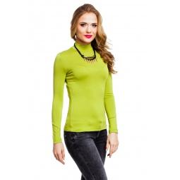 фото Водолазка Mondigo 036. Цвет: зеленый. Размер одежды: 42