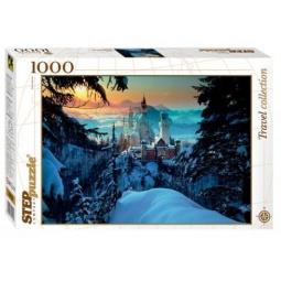 фото Пазл 1000 элементов Step By Step «Бавария. Замок Нойшванштайн»