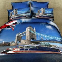 фото Комплект постельного белья с эффектом 3D Buenas Noches Britain. 2-спальный