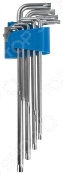 Набор ключей имбусовых длинных Зубр «Эксперт» 27467-H9 набор длинных имбусовых ключей с шаром inforce 9 шт 55633