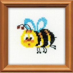 фото Набор для вышивания бисером Сотвори Сама «Пчелка»