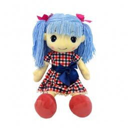 фото Кукла мягкая Maxitoys «Стильняшка с голубыми волосами»