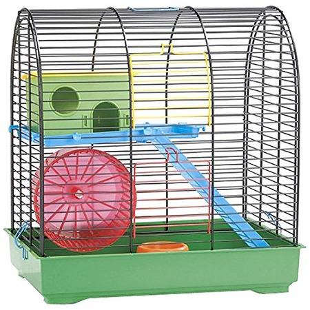 Купить Клетка для грызунов Beeztees 266409 Grim 2 с кормушкой и игровым комплексом