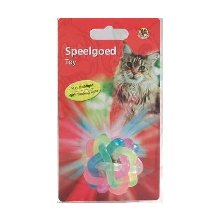 Купить Игрушка для кошек Beeztees «Мяч светящийся» 422078