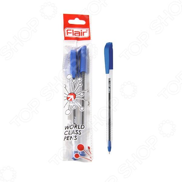 Набор ручек шариковых Flair 007Ручки для школы<br>Набор ручек шариковых Flair 007 комплект простых, но достаточно удобных канцелярских ручек, которые имеют стильный дизайн и хорошее качество. За счет эргономичной конструкции обеспечит удобный хват. Ручки выполнены из пластика и снабжены креплением на карман. Такие ручки всегда должны быть под рукой для важных записей и заметок. Отличное решение для школьного инвентаря.<br>