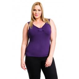 фото Майка Mondigo XL 387. Цвет: темно-фиолетовый. Размер одежды: 48