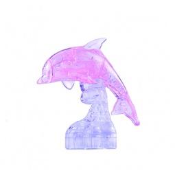 фото Пазл-конструктор 3D Ice Puzzle «Дельфин». Цвет: розовый
