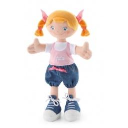 Купить Кукла мягкая Trudi Девочка с косичками