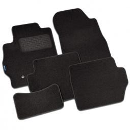 Комплект ковриков в салон автомобиля Novline-Autofamily Nissan Navara 2010 пикап. Цвет: черный - фото 3