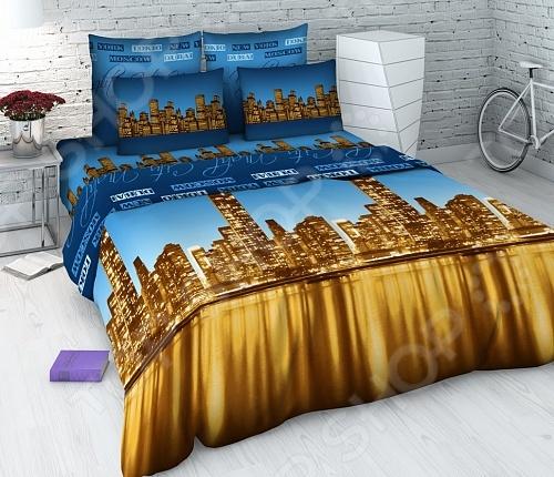 Комплект постельного белья Василиса «Ночной город»