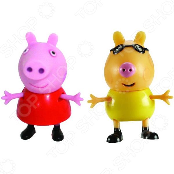 Игровой набор фигурок Peppa Pig «Пеппа и Педро»Игровые наборы с персонажами мультфильмов, сказок и комиксов<br>Игровой набор фигурок Peppa Pig Пеппа и Педро отличный набор игрушек, который обязательно понравится всем маленьким поклонникам мультфильма про свинку Пеппу. Станет прекрасной основой для различных сюжетных игр, которые так любят дети. В набор входит 2 фигурки героев мультфильма Свинка Пеппа , которые могут сидеть, стоять, двигать ручками и ножками. Игра с ним способствует развитию зрительной координации, воображения, а также мелкой моторики рук ребенка. Кроме того, тренируется наблюдательность, образное восприятие и логическое мышление. Все детали игрового набора изготовлены из высокопрочного безвредного пластика.<br>