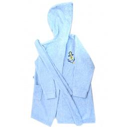 Купить Халат МИР. Цвет: голубой