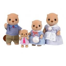 фото Набор игрушек-зверюшек Sylvanian Families 4797 «Семья Морских Бобров»