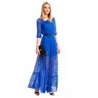 Фото Платье Mondigo 5344. Цвет: синий. Размер одежды: 42