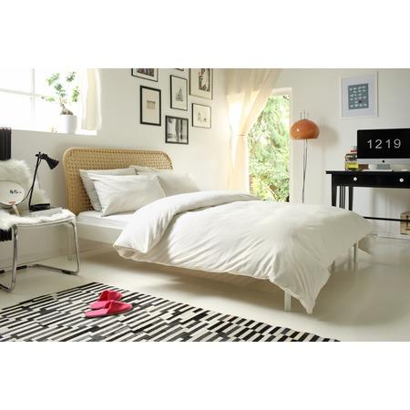 Фото Комплект постельного белья Dormeo Una. 1-спальный. Цвет: бежевый