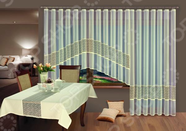 Комплект гардин Wisan для окна с балконом
