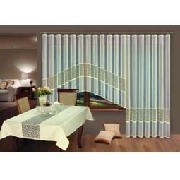 фото Комплект гардин Wisan для окна с балконом. Размер тюли: 350х170 см/200х250 см