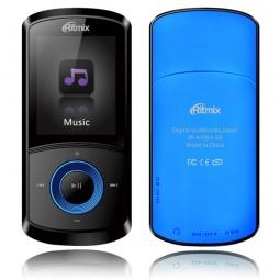 фото MP3-плеер Ritmix RF-4700. Цвет: синий. Встроенная память: 4 Гб