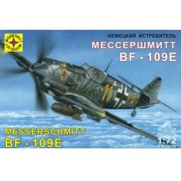 фото Сборная модель самолета Моделист немецкий истребитель Bf-109E «Мессершмитт»