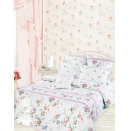 фото Комплект постельного белья Романтика Прованс. 2-спальный. Размер простыни: 220х214 см