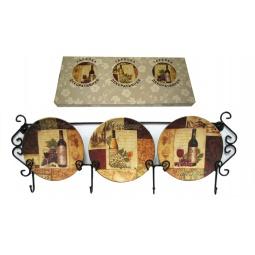 Купить Набор из 3-х тарелок Elan Gallery «Натюрморт» горизонтальный