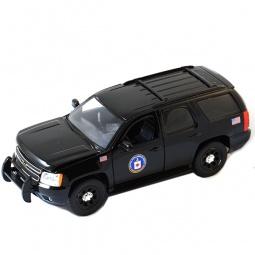 фото Модель автомобиля 1:24 Jada Toys 2010 Chevy Tahoe-CIA Hero Patrol