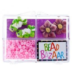 фото Набор для создания украшений Bead Bazaar «Лягушки»