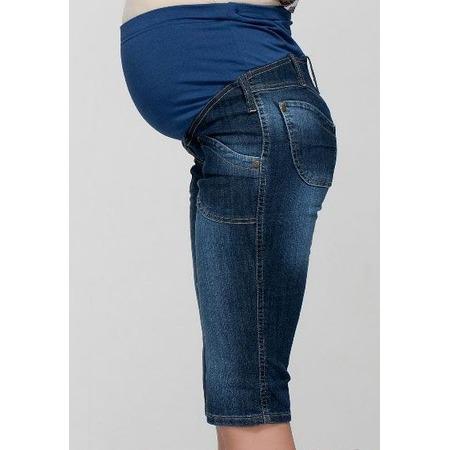 Купить Бриджи для беременных Nuova Vita 5315.1. Цвет: темно-синий