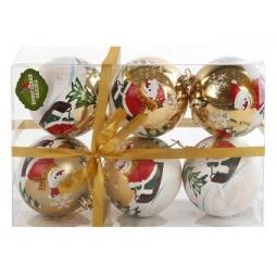 фото Набор новогодних шаров Новогодняя сказка 971530