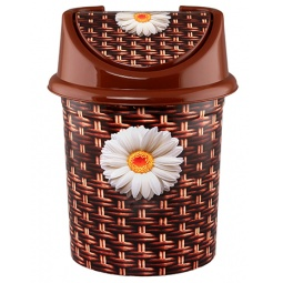 Купить Контейнер для мусора Violet 0404/80 «Плетенка»