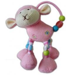 фото Мягкая игрушка развивающая Жирафики «Овечка»