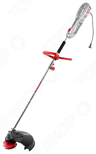 Триммер электрический Зубр ЗКРЭ-1200Триммеры садовые<br>Триммер электрический Зубр ЗКРЭ-1200 применяется в работах по скашиванию травы как небольших участков, так и крупных объектов. Триммер имеет облегченный корпус, который позволит работать без устали длительные промежутки времени. Регулируемая высота ручки позволяет добиться высокого комфорта во время работы. Оснащен мощным двигателем, который ускорит процесс обработки травы. Специальный кожух не даст траве и всякому мусору попасть в рабочего. Электрический триммер отличается от бензинового более тихой работой и отсутствием выхлопов. Однако нужно работать исключительно в сухую погоду.<br>