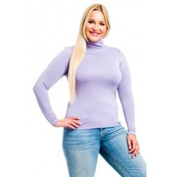 фото Водолазка Mondigo XL 046. Цвет: сиреневый. Размер одежды: 52