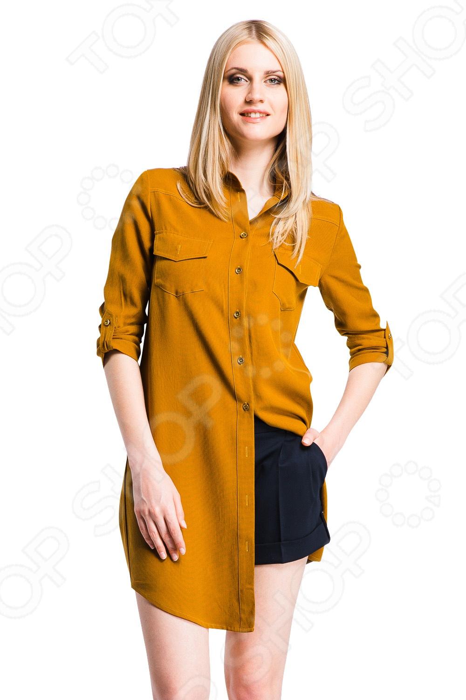 Рубашки Блузки Горчичного Цвета Купить