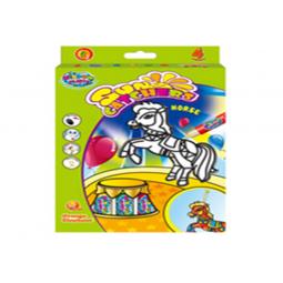 фото Краски витражные Оранжевый Слон Цирковая лошадка