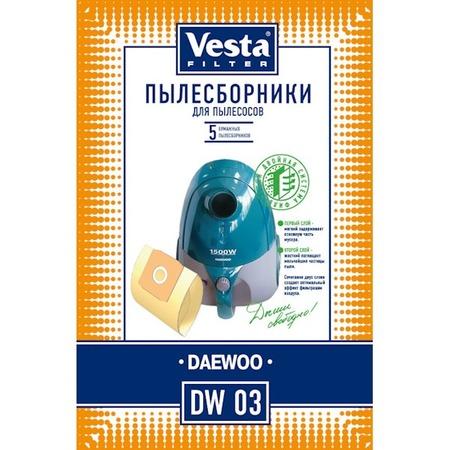 Купить Мешки для пыли Vesta DW 03 Daewoo