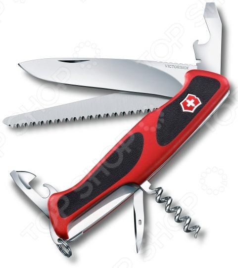Нож перочинный Victorinox RangerGrip 55 0.9563.C нож перочинный victorinox swisschamp 1 6795 lb1 красный блистер