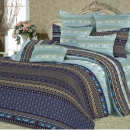 фото Комплект постельного белья Slava Zaitsev «Махараджа». 1,5-спальный