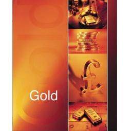 фото Тетрадь в клетку лакированная Пересвет Gold