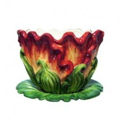 фото Кашпо декоративное Valenсia «Бархатный тюльпан»