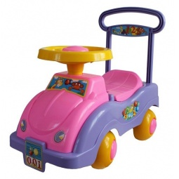 Купить Машина-каталка для девочки Совтехстром «Обезьянка и жираф»