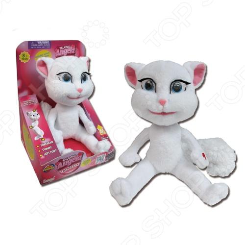 фото Игрушка интерактивная мягкая Dragon Говорящая Анжела, Мягкие интерактивные игрушки