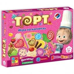 фото Игра развивающая на магнитах Vladi Toys «Юный повар. Торт» VT3003-01
