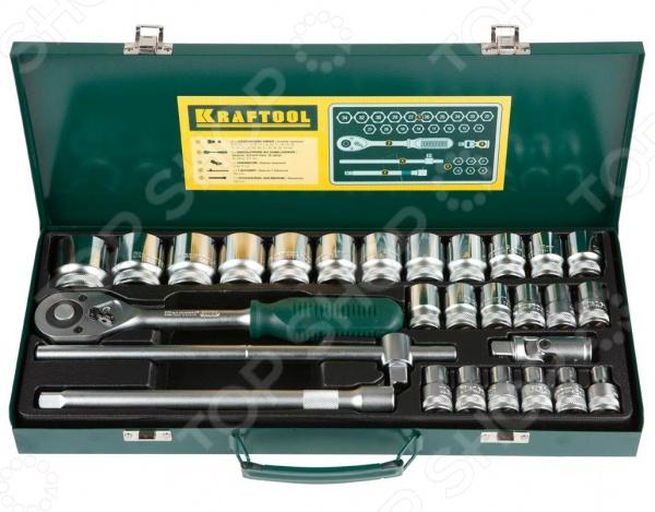 Набор торцевых головок Kraftool Industrie Qualitat 27892-H28_z01 пистолет для герметика kraftool industrie 06673 z01