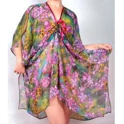 фото Туника Элеганс Афина. Цвет: фиолетовый. Размер одежды: 52-60