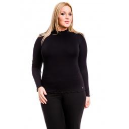 фото Водолазка Mondigo XL 1473. Цвет: черный. Размер одежды: 48
