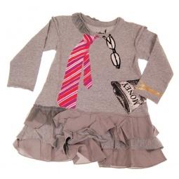 фото Платье детское с аппликацией Mini Shatsu Miss Independent