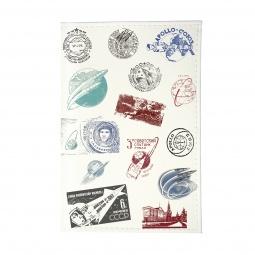 фото Обложка для паспорта Mitya Veselkov «Штампики о космосе»